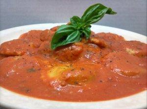Chicken and Ravioli