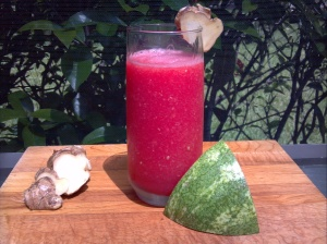Watermelon and Ginger