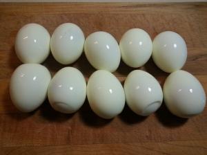 hardboiled eggs