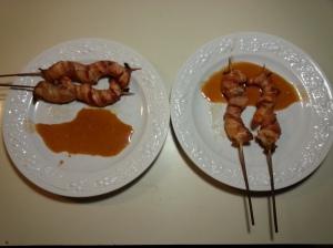 bacon with sriracha
