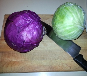 red/green cabbage