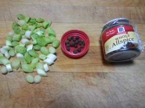 celery and allspince