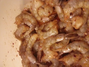 seasoned shrimp